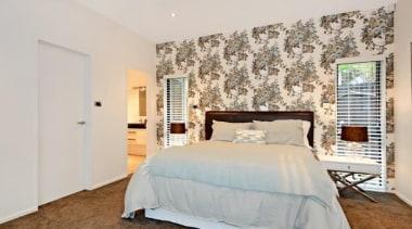 Bedroom - bed frame | bedroom | ceiling bed frame, bedroom, ceiling, estate, floor, home, interior design, property, real estate, room, wall, window, gray