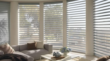 luxaflex pirouette shadings - luxaflex pirouette shadings - daylighting, home, interior design, living room, shade, window, window blind, window covering, window treatment, wood, gray