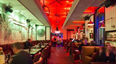MERIT WINNERCarlton (1 of 4) - Holmes Consulting bar, function hall, interior design, restaurant, red
