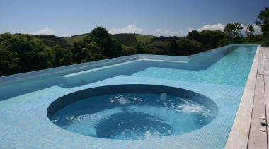 http://goo.gl/PfHsAn - Bisazza Spa Pool - estate | estate, leisure, property, real estate, swimming pool, water, water resources, teal