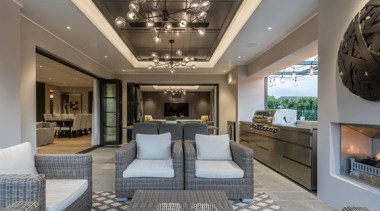 New Albany Show Home - New Albany Show ceiling, estate, interior design, living room, real estate, gray