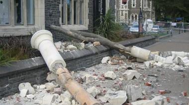NOMINEERegistry Building (2 of 4) - Hawkins Contruction road surface, rubble, walkway, gray