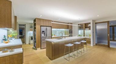 Entrant: Lynn Plom – 2015 NKBA Design Awards countertop, floor, flooring, interior design, kitchen, real estate, room, gray