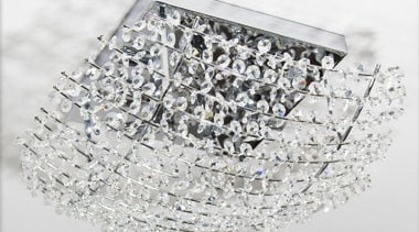 FeaturesThe Farzo is a unique crystal design which light fixture, lighting, white