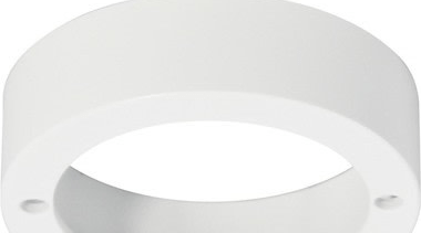 FeaturesThis surface mount ring can be used with lighting, product design, ring, silver, white, white