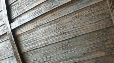 Created by Steve Kuhl of Kuhl Design Build, line, lumber, plank, plywood, siding, texture, wall, wood, wood stain, gray