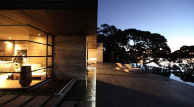 Westmere House - Westmere House - architecture | architecture, home, house, lighting, property, real estate, sky, black