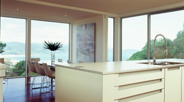 Korokoro Kitchen - Korokoro Kitchen - architecture | architecture, cabinetry, ceiling, countertop, daylighting, house, interior design, kitchen, real estate, window, brown