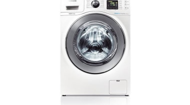 Laundry-Washer Dryer WD856UHSAWith the Quick Wash feature, you clothes dryer, home appliance, major appliance, product, product design, washing machine, white