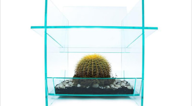 Industrial designer Vedat Ulgen, of New York company glass, product design, white