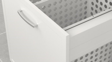 The Tanova Deluxe range offers pull out laundry angle, drawer, product, product design, white, gray