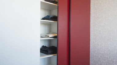 The semi frameless 800 Series wardrobe door was door, interior design, product design, shelf, shelving, wardrobe, gray, white