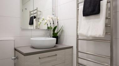 Standard Bathroom - Standard Bathroom - bathroom | bathroom, bathroom accessory, bathroom cabinet, floor, interior design, plumbing fixture, product design, room, sink, tap, gray