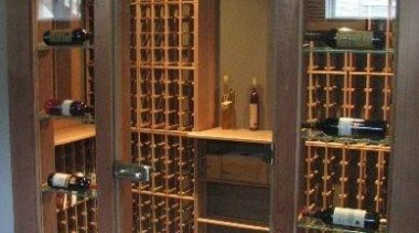 Modern Wine Cellar Ideas - Modern Wine Cellar bookcase, furniture, liquor store, shelving, wine cellar, winery, brown