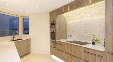 Entrants: Michael Eames & Angelique Armstong #2 – cabinetry, countertop, interior design, kitchen, real estate, room, orange