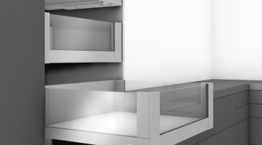 LEGRABOX free - Box System - angle | angle, bathroom accessory, black and white, chest of drawers, furniture, line, monochrome, product, product design, shelf, shelving, white, gray
