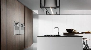 Binova Italian Kitchens - Binova Italian Kitchens - countertop, home appliance, interior design, kitchen, gray, white