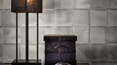 Caravaggio Range - Caravaggio Range - ceiling | ceiling, floor, flooring, interior design, lamp, lampshade, light fixture, lighting, lighting accessory, still life photography, tile, wall, gray, black