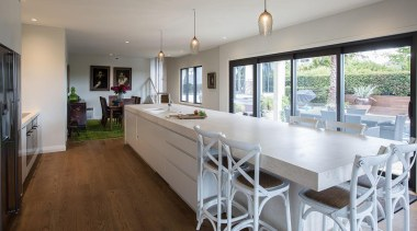 Entrant: Maggie Gardner – 2015 NKBA Design Awards countertop, estate, flooring, home, house, interior design, kitchen, property, real estate, room, window, gray