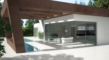 Exterior Zenith - Exterior Zenith - architecture | architecture, house, property, black, white