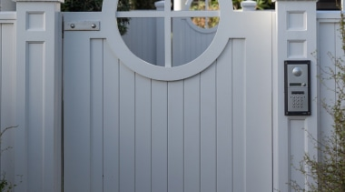 Gate - door | fence | gate | door, fence, gate, home, home fencing, house, gray, black
