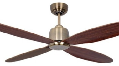 "Features52""(1300mm) Blade sweepHigh Performance Energy Efficient 35w DC ceiling fan, home appliance, mechanical fan, product design, white"