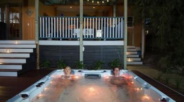 Galaxy Swim Spas leisure, resort town, swimming pool, black