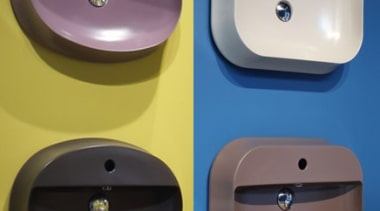 There are many shapes and sizes available - bathroom sink, hardware, plumbing fixture, product, purple, sink, blue