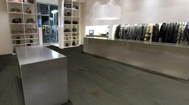 Gstar41 - boutique | floor | flooring | boutique, floor, flooring, furniture, interior design, retail, tile, gray, black