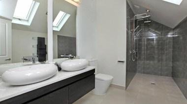 32 Rose Rd Origami grey floral bathroom wall bathroom, floor, interior design, property, real estate, room, tile, gray