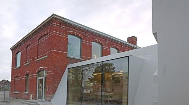 Library Extension - Library Extension - architecture | architecture, building, facade, house, property, gray, white