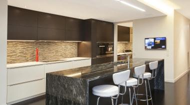Entrants: Michael Eames & Angelique Armstong #1 – countertop, interior design, kitchen, real estate, room, white, black