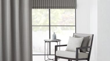 Summit 02 - chair | curtain | decor chair, curtain, decor, floor, furniture, interior design, shade, table, textile, window, window blind, window covering, window treatment, white, gray