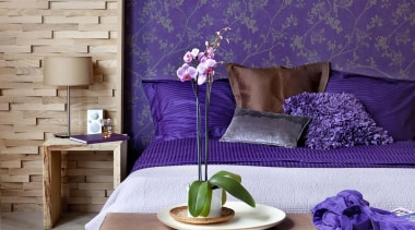 Chacran Range - Chacran Range - bedroom | bedroom, furniture, home, interior design, living room, purple, room, table, wall, wallpaper, purple, gray