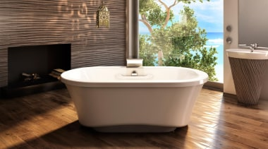 amma 7242 fs narrow base.jpg - amma_7242_fs_narrow_base.jpg - bathroom, bathtub, ceramic, floor, flooring, hardwood, interior design, plumbing fixture, product design, tile, wood, wood flooring, brown