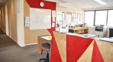 Potter Interior Systems creates customised whiteboard solutions for floor, flooring, interior design, office, real estate, white