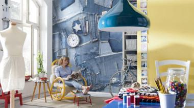 Jeans Interieur - Italian Color Range - furniture furniture, interior design, product, product design, gray, white