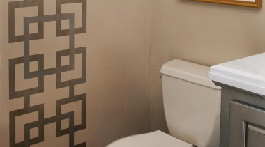 Entire Home Remodel - Powder Room - bathroom bathroom, bathroom accessory, bidet, ceramic, floor, interior design, plumbing fixture, product, product design, room, tile, toilet, toilet seat, wall, brown, gray