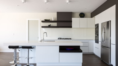 IMGL9856-9 - Dairy Flat Kitchen - countertop   countertop, floor, furniture, interior design, kitchen, product design, room, white