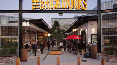 RCG Retail Property Award - The Brickworks LynnMall, outlet store, gray, black