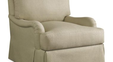 A balance between the classic, a sense of angle, chair, couch, furniture, product, product design, sleeper chair, white