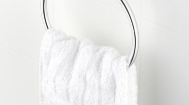 VELOSO Towel Stirrup - VELOSO Towel Stirrup - plumbing fixture, product, product design, textile, white, white