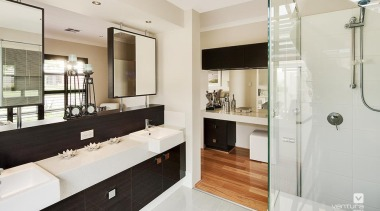 Ensuite design. - The New Dimension Display Home bathroom, home, interior design, real estate, room, white