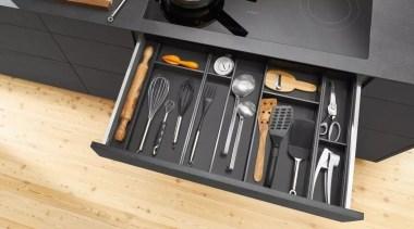 AMBIA-LINE from Blum - AMBIA-LINE from Blum - furniture, product design, tool, orange, black