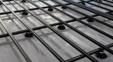 QWICKBUILD is the award-winning aluminium sub-frame system by black and white, daylighting, iron, line, material, metal, monochrome, monochrome photography, steel, structure, symmetry, gray