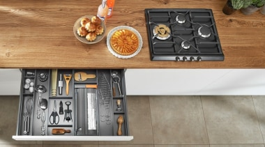 AMBIA-LINE kitchen accessories – organization at its best. furniture, table, gray