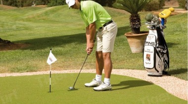 Artificial sports turf systems have come a long competition event, games, golf, golf ball, golf club, golf course, golf equipment, golfer, grass, hickory golf, individual sports, lawn, leisure, outdoor recreation, pitch and putt, plant, professional golfer, putter, recreation, sand wedge, sport venue, brown, yellow