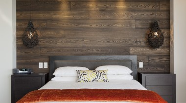 DFD Wood Floors is Creative Flooring brand for bed, bed frame, bed sheet, bedroom, ceiling, floor, furniture, home, interior design, room, suite, wall, wood, gray, black
