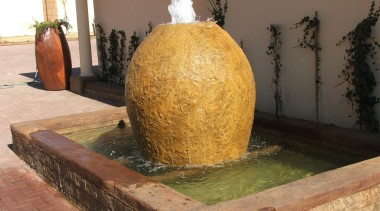 Decocrete 10 - Decocrete_10 - water feature | water feature, brown, orange