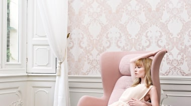 Camarque Range - Camarque Range - beauty | beauty, blond, chair, couch, floor, flooring, furniture, girl, human hair color, interior design, leg, long hair, photo shoot, pink, shoulder, sitting, wallpaper, white